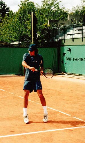 Roger Federer, Roland Garros 2000