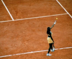 Venus Willams Roland Garros 2000