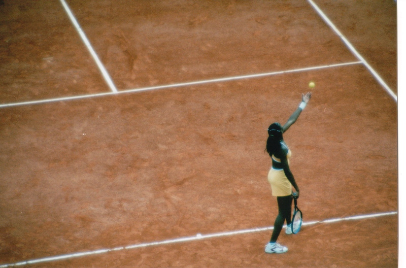 Venus Williams Roland Garros French Open 2000