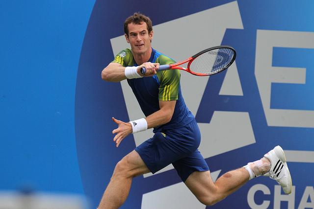 Andy Murray: Greit videre til tredje runde. (flickr.com)