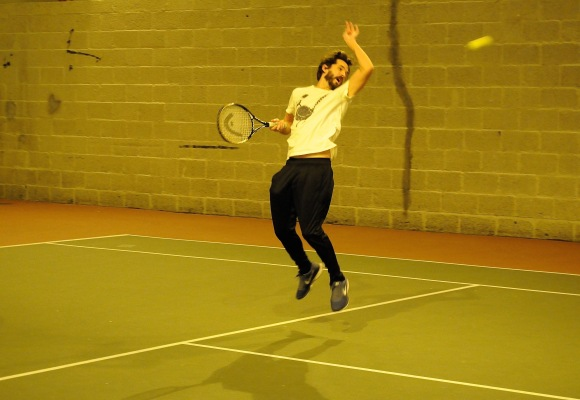 Tennis med P2 og Thomas Dybdahl