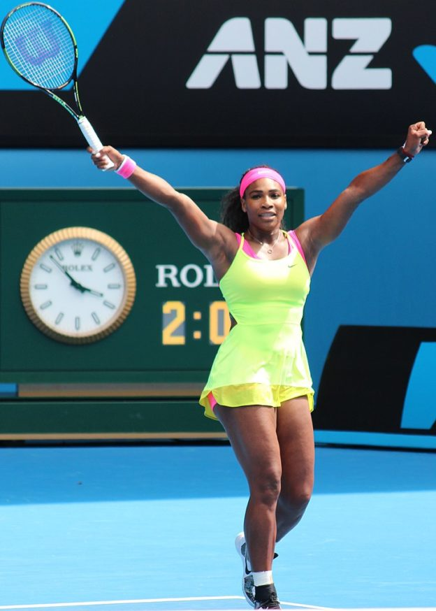 Serena Williams (Wikimedia Commons)