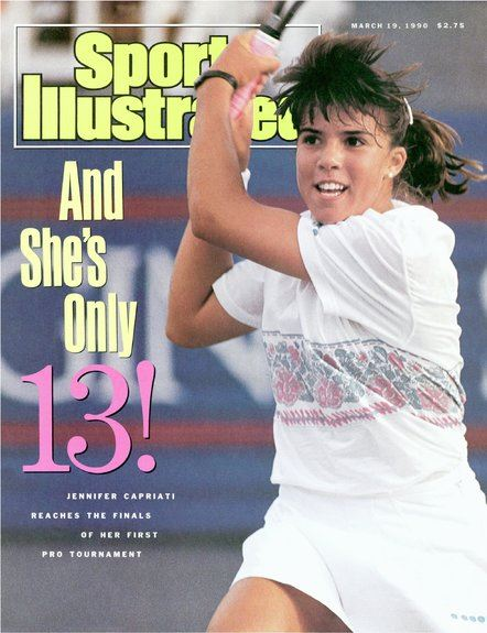 Sports Illustrated med Jennifer Capriati på forsiden