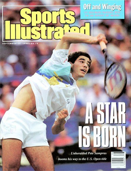 Pete Sampras Sports Illustrated