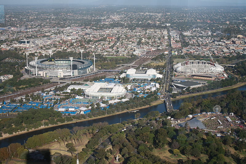 Melbourne Park (Wikimedia Commons)